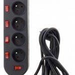 Bloc Sono 5 Prises 16A 2P+T + 6 Interrupteurs Câblé Ho5Vv-F 3G1,5Mm² 3M de la marque Zenitech image 2 produit