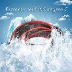 Bntechgo Calibre 24Fil de Coque en silicone ultra souple 20Pieds haute température 200deg C 600V 24AWG Fil de silicone 40brins de fil de cuivre étamé câble de batterie dorés Modèle Noir et rouge chaque couleur 3m de la marque BNTECHGO image 1 produit