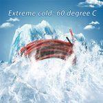 Bntechgo Calibre 28Câble silicone ultra souple 20Pieds haute température 200deg C 600V 28AWG câble silicone 16brins de fil de cuivre étamé dorés Modèle câble Noir et rouge chaque couleur 3m de la marque BNTECHGO image 1 produit