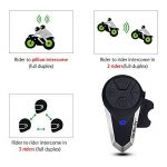 BOBLOV BT-S3 Intercom Moto Casque Moto Oreillette Moto Interphone Radio FM sans Fil Mic Etanche (Lot de 2) de la marque BOBLOV image 1 produit