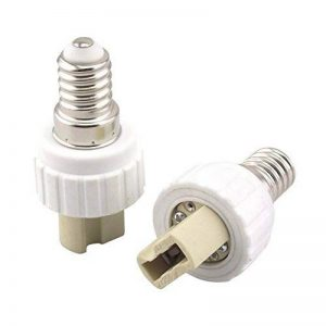 Bonlux 10-Pack E14 à G9 Lamp Holder Converter G9 Socket base pour l'ampoule LED halogène CFL Lampe Base Converter (E14 à G9) de la marque Bonlux image 0 produit