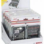 Bosch 2607017327 Forets et embouts de vissage jeu de 35 pièces ph1/ ph2/ ph3/ pz1/ pz2/ pz3/ sl3/ sl4/ sl5/ sl6/ h3/ h4/ h5/ h6/ t10/ t15/ t20/ t20/ t25/ t27/ t30/ t40 de la marque Bosch image 1 produit