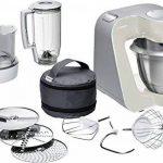 Bosch MUM58L20 Machine Compacte pour Cuisine 1000 W, 3,9 L, Gris Minéral/Argent de la marque Bosch image 4 produit