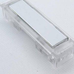 Bouton de sonnette avec frottement Contact et boîtier en plastique transparent de la marque NT-1333 image 0 produit