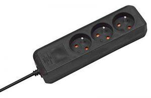 Brennenstuhl 1152501 Eco-Line Bloc de 3 Prises avec socle Noir de la marque Brennenstuhl image 0 produit