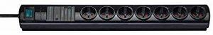 Brennenstuhl 1153301427 Digimaster Primera-Tec Bloc de 7 Prises avec socle 2 m H05VV-F 3G1,5 Noir de la marque Brennenstuhl image 0 produit