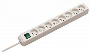Brennenstuhl 1159321018 Eco-Line Bloc de 8 Prises avec socle/interrupteur Blanc de la marque Brennenstuhl image 0 produit
