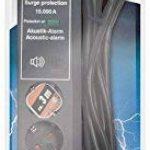 Brennenstuhl 1159541376 Secure-Tec Bloc de 6 Prises avec parasurtenseur 15000 A signal sonore Noir de la marque Brennenstuhl image 1 produit