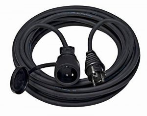 Brennenstuhl 1169311 Cordon prolongateur Pro ip44 10m Noir h07rn-f 3g1,5, 10 m de la marque Brennenstuhl image 0 produit