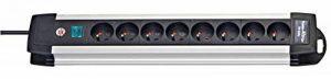 Brennenstuhl 1391001068 AN8 Premium Alu-Line Multiprise avec interrupteur de 8 prises 3 m H05VV-F 3G1,5 de la marque Brennenstuhl image 0 produit
