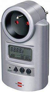 Brennenstuhl 1506601 Primera-Line Compteur d'energie 230v~ -50 hz-16a-3600w, Gris de la marque Brennenstuhl image 0 produit