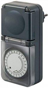 Brennenstuhl Minuterie journalière mécanique avec 96 cycles programmables par jour, programmateur mécanique IP44 BMZ 44, anthracite , Quantité : 1 de la marque Brennenstuhl image 0 produit