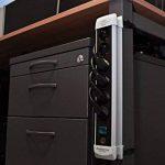 Brennenstuhl Prolongateur multiprise avec interrupteur marche-arrêt, bloc 6 prises avec câble H05VV-F 3G1,5 de 3 m de long, noir, Quantité : 1 de la marque BRENNENSTUHL image 1 produit