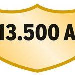 Brennenstuhl Prolongateur multiprise avec parasurtenseur 13500 A, bloc 5 prises avec câble H05VV-F 3G1,5 de 2,5 m de long, argent/noir, Quantité : 1 de la marque Brennenstuhl image 2 produit