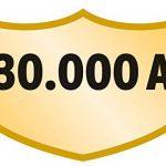 Brennenstuhl Prolongateur multiprise avec parasurtenseur 30.000 A, bloc 4 prises avec câble H05VV-F 3G1,5 (3 m), alu/noir, Quantité : 1 de la marque Brennenstuhl image 1 produit