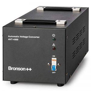 Bronson++ AVT 4000 - 110 / 120 Volts Transformateur USA Convertisseur de Tension - 4000 Watts - Augmentation / Diminution Noyau Torique - Bronson 110V 120V 4000W de la marque Bronson++ image 0 produit