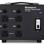 Bronson++ HE-D 4000 Transformateur - 110 volts sortie AC - haute efficacité / faible bruit USA Convertisseur de tension - 4000 watts - Bronson 4000W de la marque Bronson image 1 produit