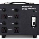 Bronson++ HE-D 5000 Transformateur - 110 volts sortie AC - haute efficacité / faible bruit USA Convertisseur de tension - 5000 watts - Bronson 5000W de la marque Bronson image 1 produit
