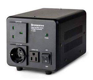 Bronson++ TI 1000 - Transformateur 110 volts - Troïdal Core USA Converter 1000 watts entrée/sortie réversible Bronson 110V 1000W de la marque Bronson++ image 0 produit