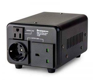 Bronson++ TI 200 - Transformateur 110 volts - Troïdal Core USA Converter 200 watts entrée/sortie réversible Bronson 110V 200W de la marque Bronson++ image 0 produit
