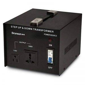 Bronson++ VT 3000 Watt Transformateur / USA 110 Volt Converter / Convertisseur de tension 110 /120 V - 220 / 240 V réversible 3000W - Bronson de la marque Bronson++ image 0 produit