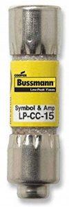 Bussmann Lp-cc-1515Amp Low-peak limitation de courant de temporisation Class CC rejet fusible cartouche, 600V UL Énumérés par Bussmann de la marque Bussmann image 0 produit
