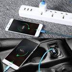 Cable USB Type C, Câble Huawei P20 Lite, Câble Huawei P20, Câble Huawei P20 Pro, DUX DUCIS Durable Nylon Tressé USB 2.0 Type C Chargeur Rapide / Super Charge / Câble de Date de Charge pour Tous les modèle USB-C (Lot de 2: 1M&0.3M) de la marque DUX DUCIS image 1 produit