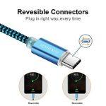 Cable USB Type C, Câble Huawei P20 Lite, Câble Huawei P20, Câble Huawei P20 Pro, DUX DUCIS Durable Nylon Tressé USB 2.0 Type C Chargeur Rapide / Super Charge / Câble de Date de Charge pour Tous les modèle USB-C (Lot de 2: 1M&0.3M) de la marque DUX DUCIS image 2 produit