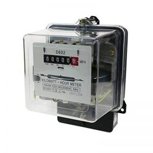Cablematic - Compteur d'électricité contre-phase 20A 230V 50Hz 80A max de plastique transparent. de la marque Cablematic image 0 produit