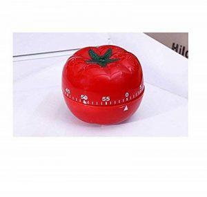 Cadeau de mode spécial Minuterie mécanique de la tomate 60 minutes avant la cuisson de la marque Weekendy image 0 produit