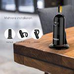 Caméra de Sécurité, FREDI 1080P WiFi Panoramique Caméra de Surveillance,180 Degrés Grand Angle Caméra sans Fil avec Audio Bidirectionnel, Détection de Mouvement, Vision Nocturne, Interphone (Noir) de la marque FREDI image 2 produit