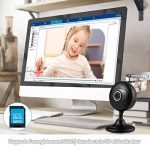 Caméra Ip Wansview HD 1080P, Caméra de Surveillance de Bébé / Nounou à Domicile Wireless Caméra de Sécurité avec la Fente de Carte Mémoire, Vision Nocturne, Audio bidirectionnel - K3 (Noire) de la marque Wansview image 3 produit