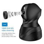 Caméra Ip WiFi 1080P, RUILINK Caméra de Surveillance sans Fil Détecteur de Mouvement Lentilles Rotatives Vision Nocturne avec Audio Bidirectionnel de la marque SMONET image 1 produit