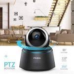 Caméra Sécurité Wifi 1080P FREDI IP, Caméra de Surveillance Sans Fil, Détecteur de Mouvement Infrarouge à Vision Nocturne, Pan Tilt P2P Wps Ir-Cut Babyphone Bidirectionnel de la marque FREDI image 1 produit