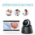 Caméra Sécurité Wifi 1080P FREDI IP, Caméra de Surveillance Sans Fil, Détecteur de Mouvement Infrarouge à Vision Nocturne, Pan Tilt P2P Wps Ir-Cut Babyphone Bidirectionnel de la marque FREDI image 2 produit