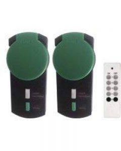 Casa Control - Pack de 2 prises wifi avec télécommande pour Smart wifi - Extérieur de la marque Casa Control image 0 produit