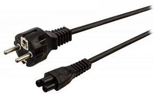 Câble d'Alimentation en Trèfle (PC Portable) 2 m - Schuko CEE7 vers IEC 320 C5 - Alimentation Tripolaire - CEE7 (M), C5 (F) de la marque StarTech.com image 0 produit