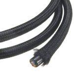 Câble Electrique Textile, Elfeland 10M 3-Core 3x0.75mm² Fil Tressé Vintage Edison avec Conducteur de Terre Câble Tissu DIY Créatif pour Appareils Electriques et Accessoires de Eclairage-Noir de la marque Elfeland image 2 produit