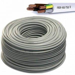 Câble Icel électrique multipolaire isolant pour installations électriques et de plomberie Câble incendie Couronne de 100mètres de la marque ICEL image 0 produit