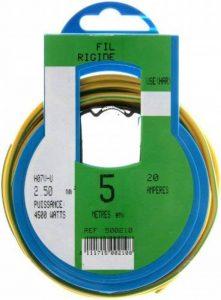 câble électrique jaune et vert TOP 1 image 0 produit