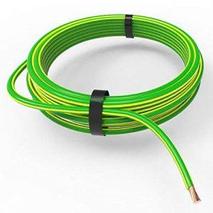 câble électrique jaune et vert TOP 6 image 0 produit