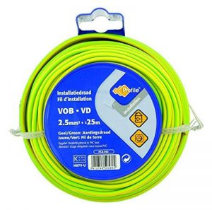 câble électrique jaune et vert TOP 7 image 0 produit