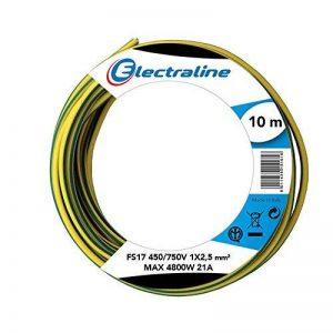 câble électrique jaune et vert TOP 9 image 0 produit