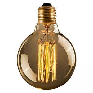 Cflagrant® Grosse Ampoule Rétro XXL Vintage à Incandescence Lampe Edison 40W 220V G125 (∅12,5cm) E27 Lumière Chaude Utilisable sans Abat Jour de la marque Cflagrant image 0 produit