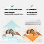 CGAOYUHUA Chauffe-lit Chauffant, Couverture chauffante, Couverture chauffante Non radiative à Circulation d'eau en Hiver, réchauffeur de lit Fast Heat Up Time,Type 1_80x160cm de la marque CGAOYUHUA image 3 produit
