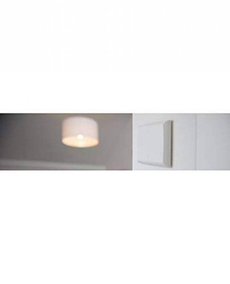 ref: 54715 Dio by chacon Interrupteur sans fil design blanc