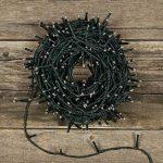 Chaîne 25,5m, 360LED MiniLED Ø 3mm Multicolor Plus (Couleurs Rouge, Pourpre, Vert, Bleu), câble Vert, avec contrôleur 8Jeux chaîne de Noël, lumières colorées, décoration Lumineuse de la marque LuminalPark image 3 produit