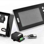 China OEM Interphone vidéo sans fil avec double récepteur et capteur CMOS de la marque BW image 1 produit