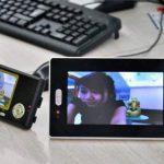China OEM Interphone vidéo sans fil avec double récepteur et capteur CMOS de la marque BW image 4 produit