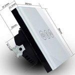 Chunyang 433MHz Smart Rideau Interrupteur Rideaux Moteur avec télécommande sans fil émetteur et récepteur Diffuseur électrique rideau interrupteur tactile blanc de la marque Chunyang image 4 produit